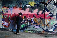 Nerk (Alex Ellison) Tags: urban graffiti boobs skatepark halloffame graff mileend hof eastlondon nerk nerkone