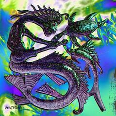 Sing of the sea (gailpiland) Tags: sea music singing digitalart textured gailpiland