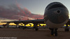 Convair B-36 Peacemaker at Sunset (rob-the-org) Tags: 50mm iso400 noflash 500 peacemaker uncropped atnight 250 b36 convair tucsonaz pimaairspacemuseum 125sec