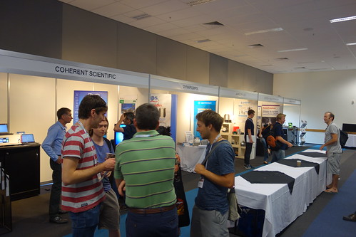 Exhibition at Australian Institute of Physics Congress