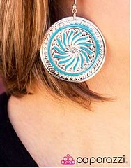 Glimpse of Malibu Blue Earring K2 P5712-3