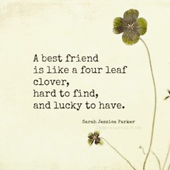 awesome_quotes_diys (friendshipquotes92) Tags: sarah four is leaf friend jessica tag hard like best quotes lucky and to clover fourleafclover find parker sarahjessicaparker bestfriends a ~a goodquotes friendshipquotes have~ 🍀🍀🍀 bestfriendsayings goodsayings