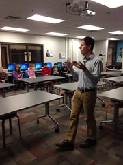 """Explaining the Hour of Code • <a style=""""font-size:0.8em;"""" href=""""http://www.flickr.com/photos/109120354@N07/16092971891/"""" target=""""_blank"""">View on Flickr</a>"""
