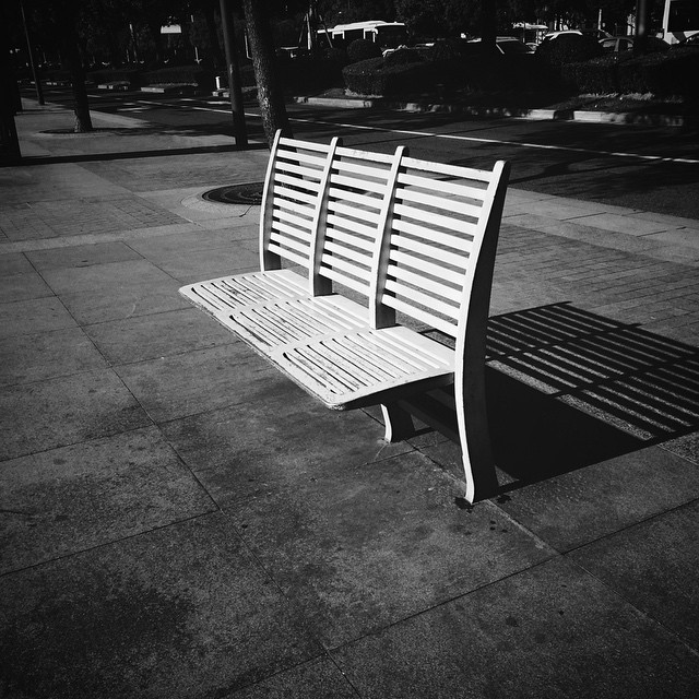 Straight up little solider #vscocam #cold #winter #chair #shanghai #eminem #sad