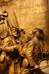 Robert Gould Shaw Memorial (detail) (ktmqi) Tags: sculpture bronze glory civilwar nationalgalleryofart americanart
