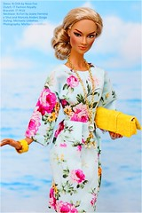 brings back the summer (Michaela Unbehau Photography) Tags: summer flower beach mannequin fashion toys photography spring model doll fotografie barbie convention gloss mode fashiondoll royalty mattel michaela ayumi puppe integrity oomph silkstone nuface unbehau