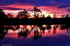 Wallamba River, Darawank, NSW, Sunset, August 10th 2014 (Black Diamond Images) Tags: sunset australia nsw tuncurry darawank greatlakesnsw wallambariver august10th2014
