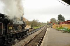 SwR 27078 (kgvuk) Tags: station trains railwaystation locomotive corfe railways 440 steamtrain corfecastle steamlocomotive t9 swanagerailway 30120 corfecastlestation lswrgreyhound