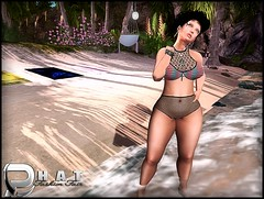 The Beach Is My Medicine With [B.F.] @ Phat Fashion ('s ) Tags: bf newness maitreya phatfashion omegaapplier