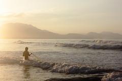 Buritaca_Linda Mendoza_Yubansky_2 (yubansky) Tags: red pez sol rio atardecer mar playa santamarta pescador buritaca yubansky lindamendozaramrez playaburitaca