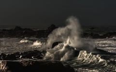 Scne de tempte en Bretagne-explored (Francois Le Rumeur) Tags: ocean sky seascape storm france rock landscape nikon brittany rocks waves wave bretagne cte splash paysage vague rocher vhq 4k tempte finistre imogene tempete littoral uhq d7100