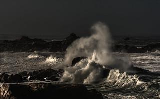 Scène de tempête en Bretagne-explored