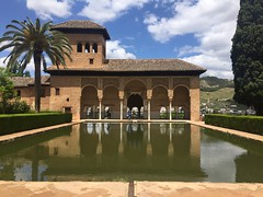Palacios Nazares, Alhambra (new folder) Tags: architecture moblog spain palace espana alhambra moorish granada mobilephone andalusia worldheritage iphone palaciosnazares nazridpalace iphone6