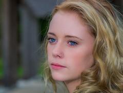 Jillian (jlucierphoto) Tags: portrait people woman cute girl closeup portraits pretty blonde lovelyflickr