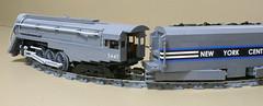 Dreyfuss_Hudson_21 (SavaTheAggie) Tags: lego steam engine locomotive hudson 464 henry dreyfuss new york central system nyc railroad train trains streamlined streamliner j3a