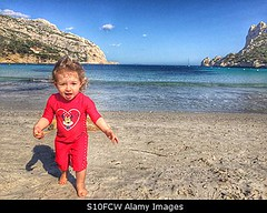 Photo accepted by Stockimo (vanya.bovajo) Tags: old travel sea summer vacation two baby holiday playing beach nature girl smiling children fun outdoors happy one sand toddler infant funny alone play exploring year young years sands discover caucasian iphone babyhood iphonegraphy stockimo