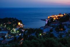 Ulcinj (Senol Demir) Tags: deniz montenegro ulcinj ulin lgn sea seaside night concordians ngc eeecotourism gece sahil blue mavi