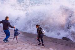 DSC_0232 (sergeysemendyaev) Tags: sunset sea storm beach spring warm waves russia dusk adler atthebeach seashore blacksea seacoast bigwaves sochi  2016                 duringf1 1 duringformulaone