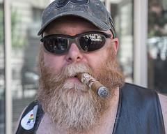 Philadelphia Pride Parade, 2016 (Alan Barr) Tags: street people color philadelphia lumix candid streetphotography cigar pride panasonic sp streetphoto gaypride 2016 gx8