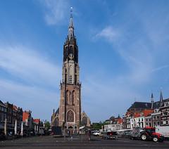 Church on the market square (Mary Gerard) Tags: delft church marketsquare