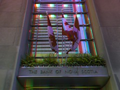 Entrance to the Bank of Nova Scotia 3-D ::: HDR/Raw Anaglyph Stereoscopy (Stereotron) Tags: toronto ontario canada architecture america radio canon eos stereoscopic stereophoto stereophotography 3d downtown raw control north entrance kitlens twin bank anaglyph financialdistrict stereo stereoview to remote spatial 1855mm hdr province redgreen tdot 3dglasses hdri transmitter stereoscopy synch anaglyphic optimized in threedimensional hogtown stereo3d thequeencity cr2 stereophotograph anabuilder thebigsmoke synchron redcyan 3rddimension 3dimage tonemapping 3dphoto 550d torontonian stereophotomaker 3dstereo 3dpicture anaglyph3d yongnuo stereotron