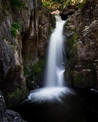 Ingleton Falls (Bashir Towers) Tags: longexposure travel nature river landscape rocks fuji yorkshire waterfalls northyorkshire yorkshiredales ingleton ingletonfalls peccafalls