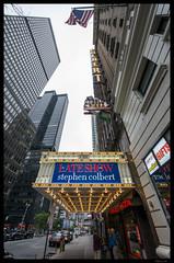 The Ed Sullivan Theater (Nikon66) Tags: newyorkcity newyork nikon manhatten colbert d800 stephencolbert thelateshow theedsullivantheater