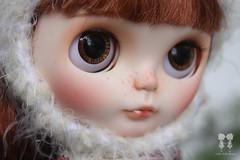 My custom Commission Blythe Doll : Monique Magnifique (little dolls room) Tags: doll blythe blythedoll ooakdoll customdoll customblythedoll bigeyesdoll blythecustomdoll dollfaceup littledollsroom ooakcustomblythedoll