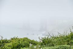 Fog Shrouded Bridge (Serendigity) Tags: mist california usa beach sanfrancisco fog coast