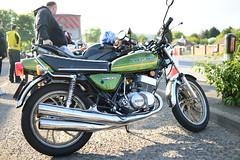 KH400 Triple Kawasaki Stroker (The Landscape Motorcyclist) Tags: kawasaki kh 400 triple stroker 3cylinder ninja krt teamgreen nikon df