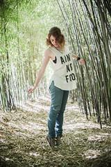 Fairy in the Forest (B l u e A i r) Tags: madrid light espaa primavera luz nature beauty forest 35mm garden trenes spring spain nikon prince bamboo fisheye redhead bosque prncipe fullframe 8mm bamb jardn d800 aranjuez