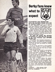 Birmingham City vs Derby County - 1968 - Page 4 (The Sky Strikers) Tags: county city two st magazine football official birmingham andrews division derby league 1s