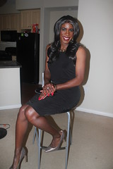 Hot Date Tonight! (darlene362538) Tags: sexy beautiful pretty pumps legs transgender transvestite africanamerican crossdress transsexual