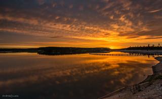 Lake Raku sunset