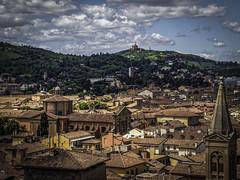 Bologna Skyline (keith_shuley) Tags: italy skyline bologna claytile olympusomdem1