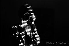 Self Portait 2015 (micahmoreland) Tags: camera light blackandwhite male contrast self natural portait selfie