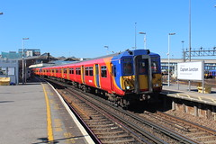 5871 (matty10120) Tags: west bus train south rail railway trains junction class clapham 455 transprot