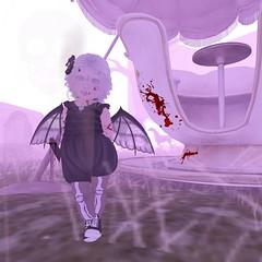 [3] (Counting Sheep ) Tags: mini murderer evil baby cute girl pretty albino monster demon toddler ring sl secondlife avatar toddleedoo