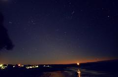 Orion and The Seven Sisters (Pleiades) (John Panneman Photography (AcePanno)) Tags: sky stars astronomy panneman nikon d610 rennies beach sunrise nsw shoalhaven australia
