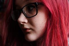 self (geetakesphotos) Tags: portrait selfportrait self selfie me hair pink colour glasses people faces features