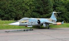 Luftwaffe F-104G Starfighter (marius bekker) Tags: luftwaffestarfighter bruntingthorpe luftwaffe2235 f104starfighter coldwarjets