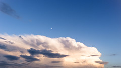 Hiatus (Nob') Tags: nob photography moody sky skyporn skyscapes wonders spain catalua trip travel studies abroad good times clouds feel scape moon rising tramuntana hiatus news