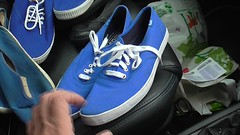 Pedal pumping in Plimsolls and Keds (eurimcoplimsoll) Tags: plimsolls keds plimsoles pumps pumping sneakers trainers canvas shoes