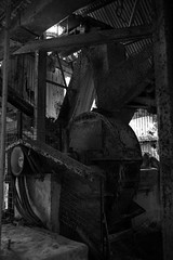 Lime works machinery (christopher.kinally) Tags: monochrome cocking lime works urban explore exploration decay abandoned industrial