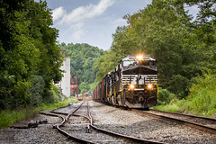 T99 at Turley (Peyton Gupton) Tags: ns norfolk southern jellico branch turley tn tennessee train log logging