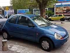 Vhc1 (VhCars1) Tags: ford ka fordka twingo renaulttwingo blue celeste olivos argentina versus
