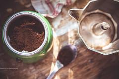 250/366 - Coffee (burberi (detta Buf)) Tags: caffettiera caff coffee green kitchen oldstyle captureyour365 moka home