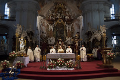 Peregrynacja Figury w. Michaa Archanioa060 (Sanktuarium w Krzeszowie) Tags: krzeszw grssau boogrobcy gargano archanio micha saint michael archangel