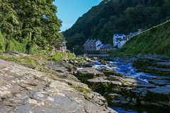 Towards the sea (frankshepherd2) Tags: stream rapids river lynmouth countryside scenery landscape devon exmoor westlyn