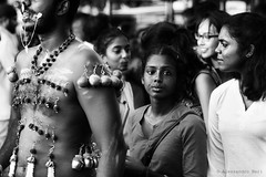 Thaipusam in Singapore (ale neri) Tags: street blackandwhite portrait indian asian people aleneri thaipusam hinduism hindu kavadi singapore streetphotography alessandroneri bw
